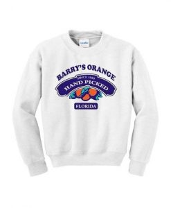 Barry's Orange Sweatshirt LP01