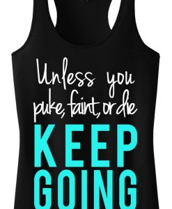 KEEP GOING TankTop ZK01