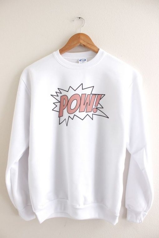 Pow Graphic Sweatshirt LP01
