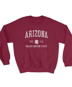 Vintage Arizona AZ Adult Sweatshirt LP01
