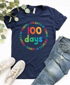100 days School T-Shirt SR01