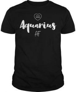 Zodiac Aquarius Af T-Shirt ZK01