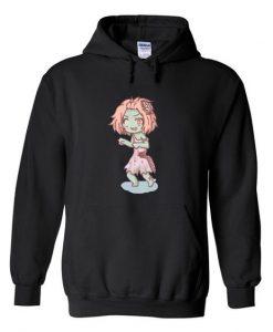zombie girl anime hoodie AV01