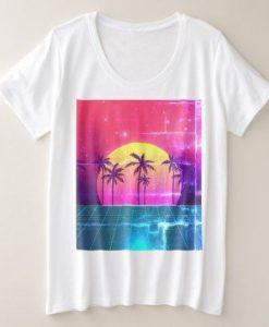 90's Style Retro Futuristic T-Shirt VL