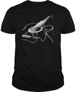 Acoustic Guitar T-shirt FD01