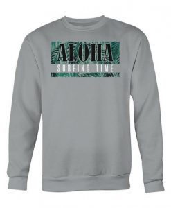 Aloha Surfing Time Sweatshirt SR01