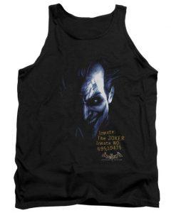 Batman Arkham Joker Adult Tank Top AZ01