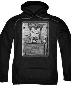 Batman Joker Adult Pull Over Hoodie AZ01