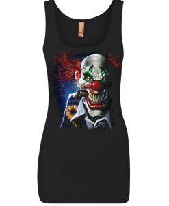Creepy Joker Clown Tank Top AZ01