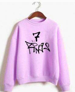 7 Rings Sweatshirt FD30N