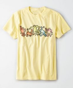 AE X Keith Haring Graphic T-Shirt N9FD