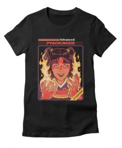 Advanced Pyrokinesis Tshirt N11EL