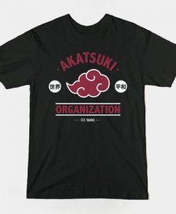 Akatsuki Naruto Tshirt N25EL