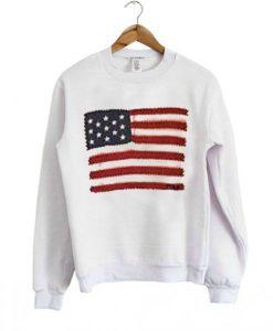 American Flag Sweatshirt FD21N