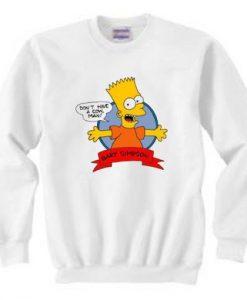 Bart Simpson Sweatshirt FD21N