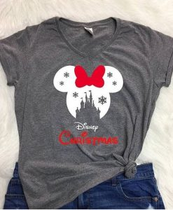 A Disney Christmas T Shirt SR6D