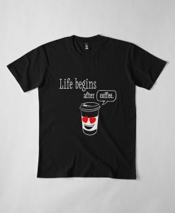 After coffee T Shirt SR3D