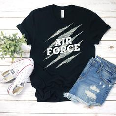 Air force Tshirt EL2D