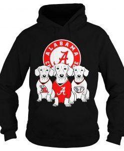 Alabama Crimson Dog hoodie FD7D