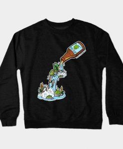 Alaska Beer Sweatshirt SR3D