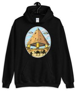 Alien Egyptian Pyramids Hoodie FD7D