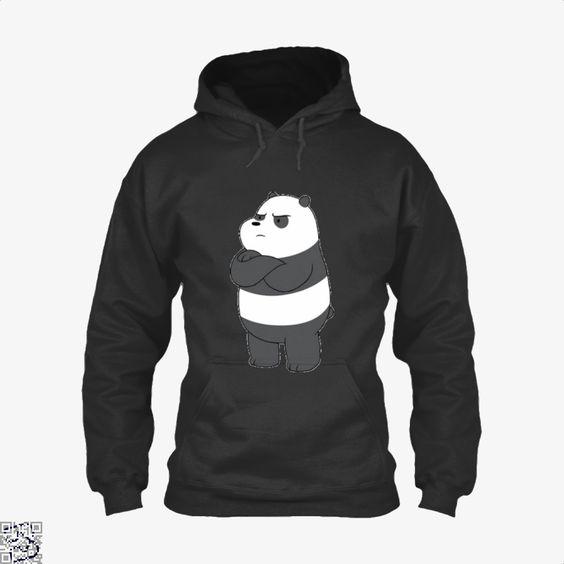 Angry Panda Bear Hoodie AZ21D