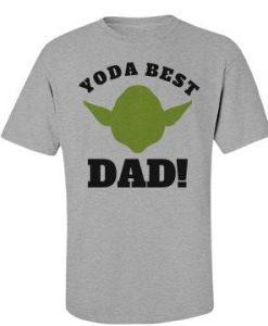 Yoda Best Dad T Shirt SR3D