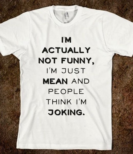 Actually Not Funny T-Shirt MQ18J0