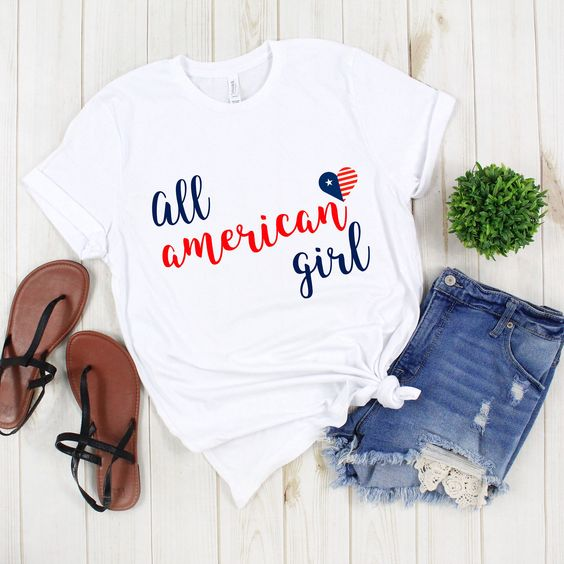 All American Girl T-Shirt DL27J0