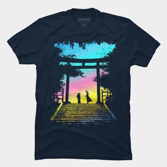 2 Samurai T-Shirt DL14F0