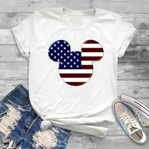 4th July American Disney T-Shirt ND31J0