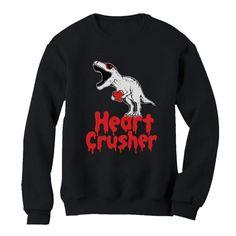 Heart Crusher T-rex Sweatshirt EL5F0