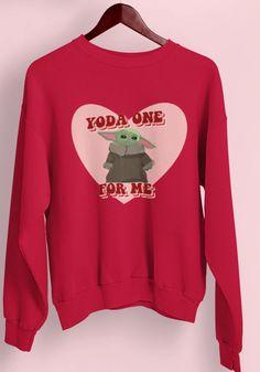 Yoda One For Me Sweatshirt EL5F0