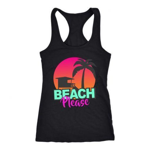 Beach Please Tank top SP23M0