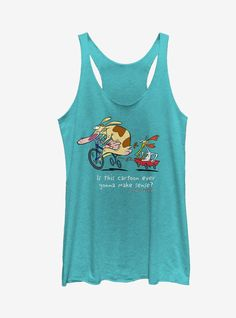 Cow And Chicken Tanktop LI27M0