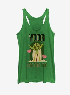 Yoda One For Me Tanktop LI27M0