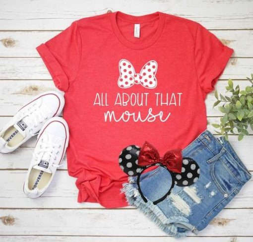 About that Mouse T Shirt SE15A0