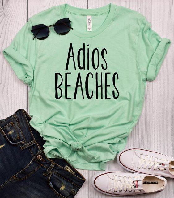 Adios Beaches T Shirt SE23A0