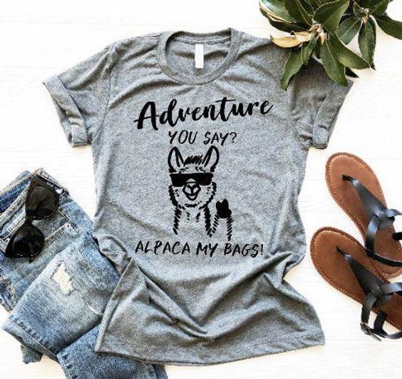 Adventure You Say T Shirt SE23A0