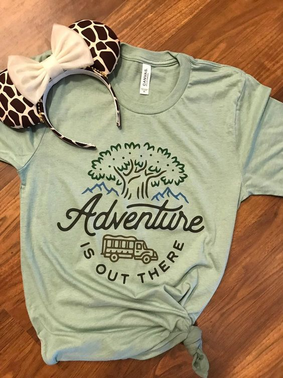 Adventure is Out T Shirt SE15A0