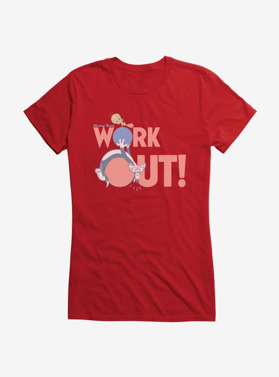 Work Out Tunes T Shirt RL30JL0