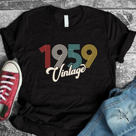 1959 Vintage T Shirt SP14AG0
