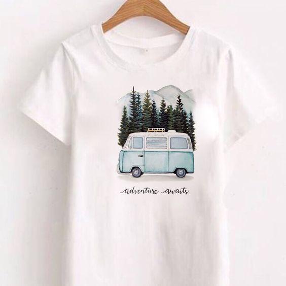 Adventure Awaits T shirt AN21AG0
