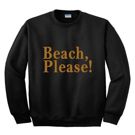 Beach Please Sweatshirt AN8AG0