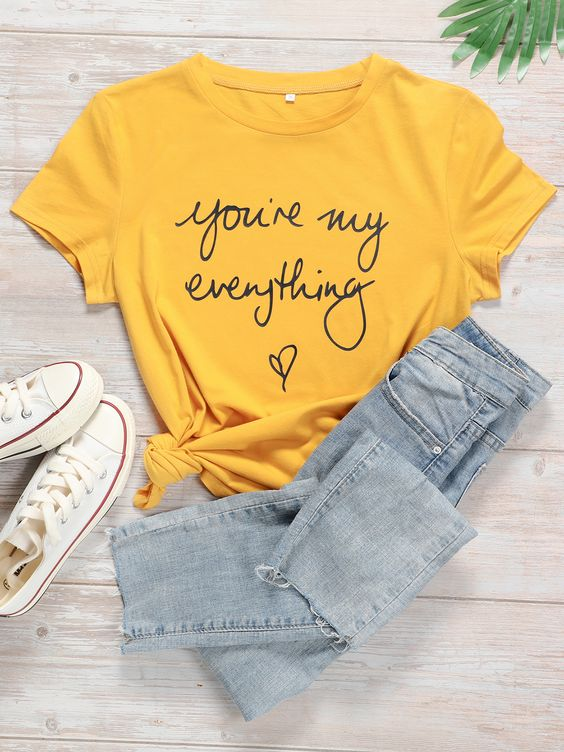 You are my Everything T shirt AN21AG0