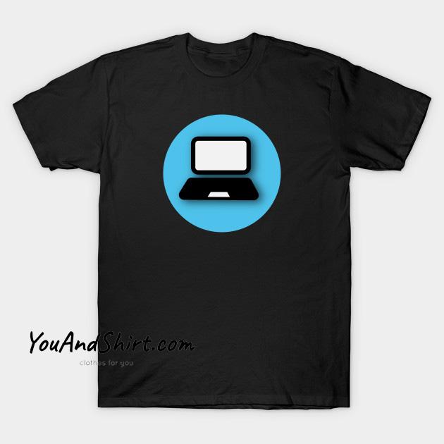 Computer Circle T-Shirt AL25N0