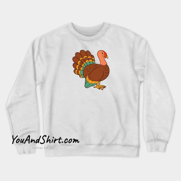 Thanksgiving Turkey Sweatshirt AL25N0