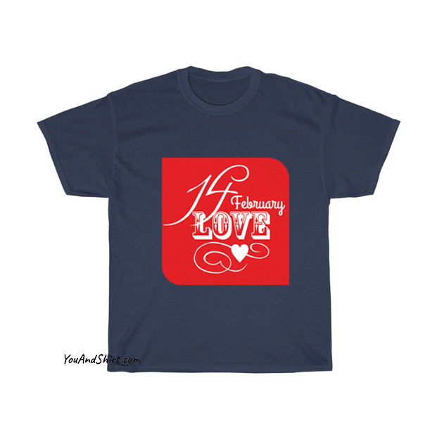 14 February Valentines Day T-Shirt AL19D0