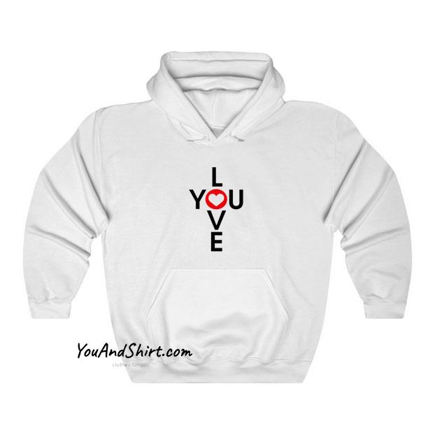 Love You hoodie SY25JN1