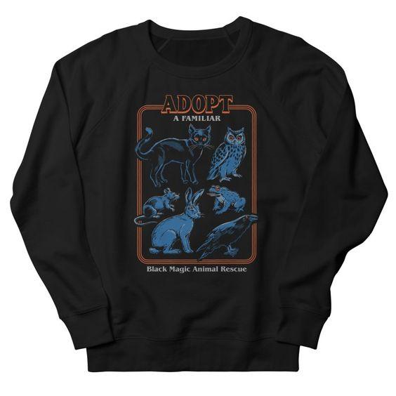 Adopt a Familiyar Sweatshirt DT17F1